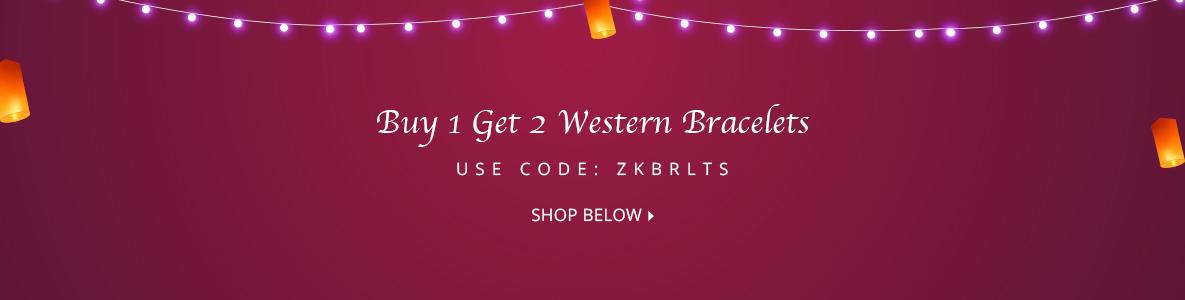 B1G2 Western Bracelet @299