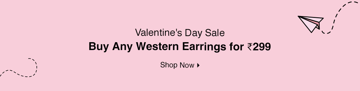 Buy Any Western Earrings for @ 299