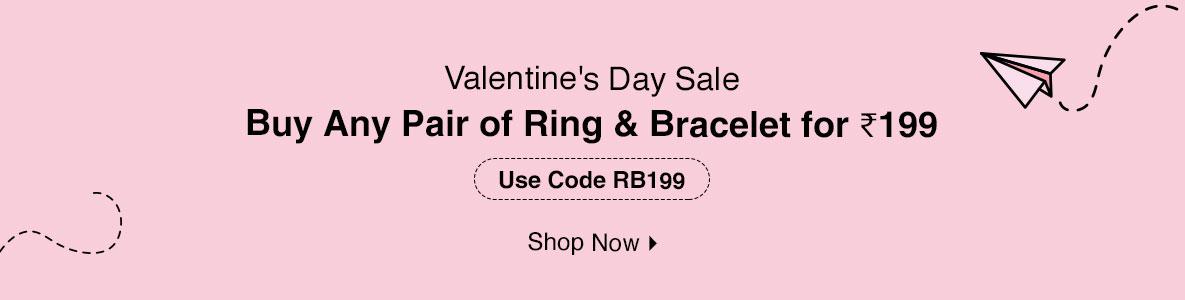 Buy Any 2 Western Rings & Bracelets for @ 199