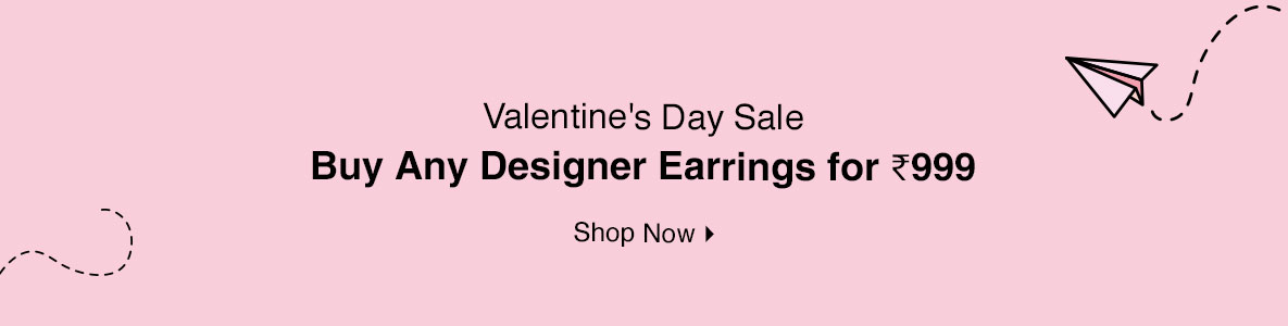 Buy Any Designer Earrings for @ 999