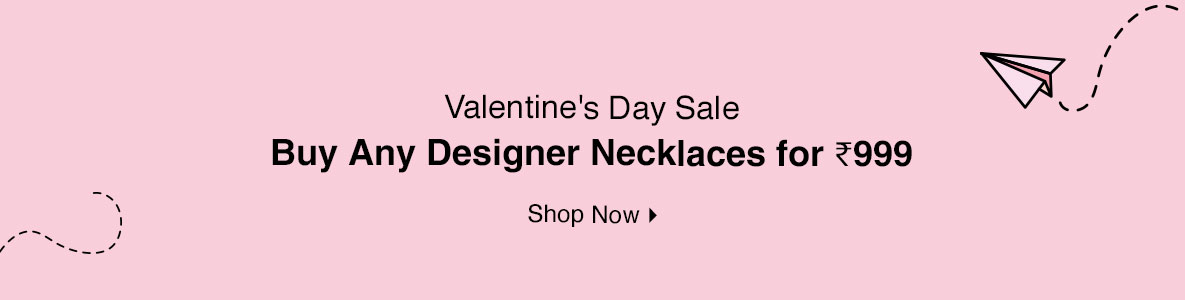 Buy Any Designer Necklaces for @ 999