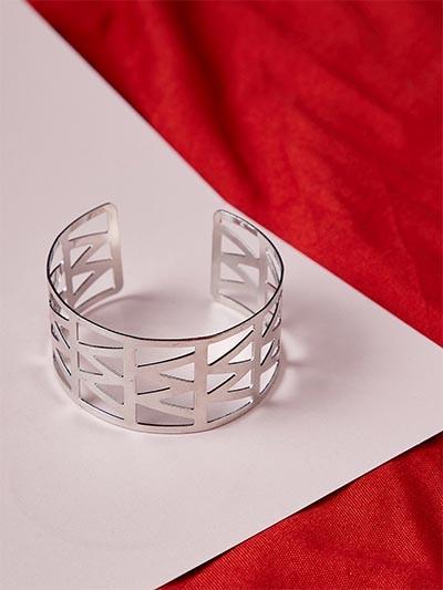 Classic Silver Cuff Bracelet