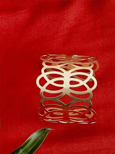 Classic Golden Cuff Bracelet