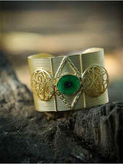 Designer Contemporary Wrist Cuff For Women