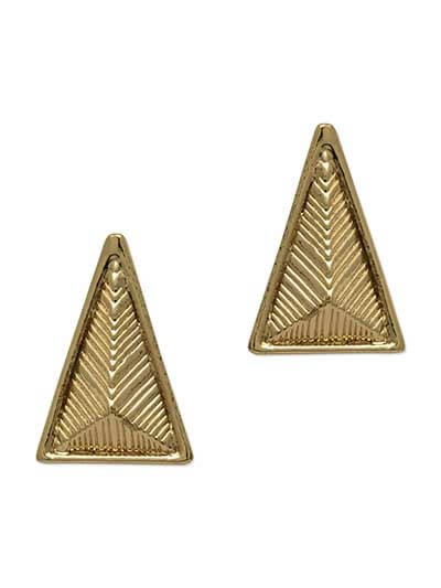 The Standing Man Stud Western Earrings