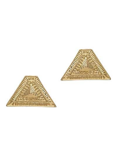 Stolen from Egypt Studs Western Earrings