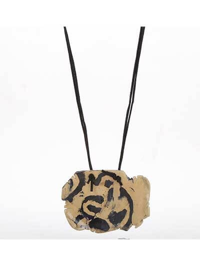 Abstract Art Statement Necklace