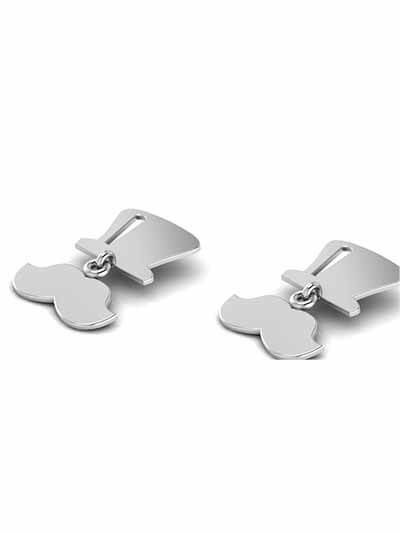 Twist Me Silver Earrings
