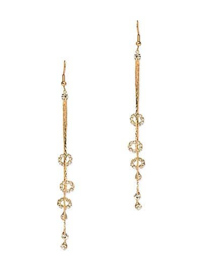 Circle of Life Dangler Western Earrings