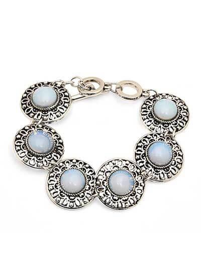 Sky Blue Zulus Handmade Jewellery Bracelet