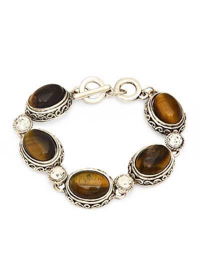 Olive Green Handmade Jewellery Bracelet