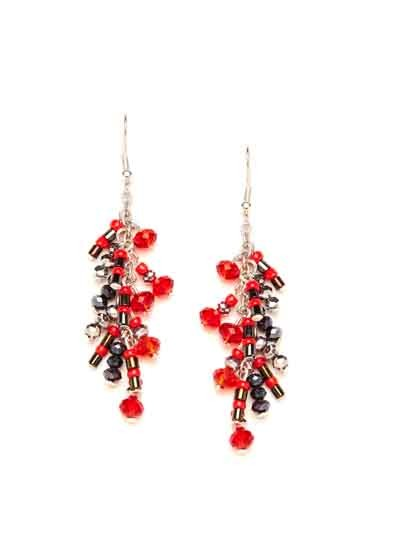 Multi-color Fancy Handmade Western Earrings