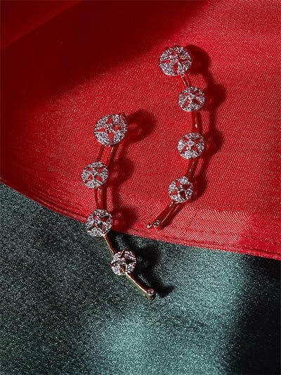 American Diamond Classy Earcuffs