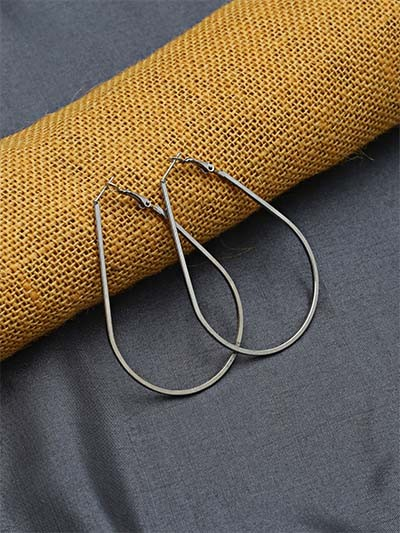 Silver Geometrical Earrings