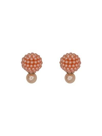 Rose Pearl Interchangeable Western Earrings