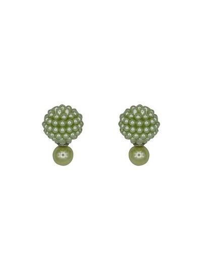 Sea Green Pearl Interchangeable Western Earrings