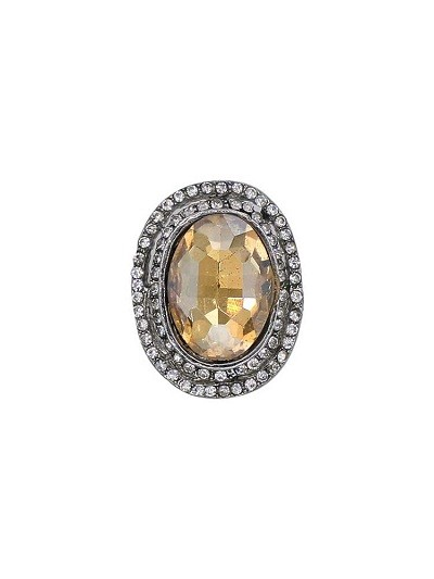 Scintillating Stone Studded Handmade Jewellery Ring