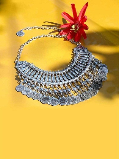 Ethnic Statement Fashion Necklace