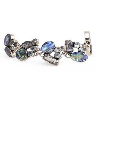 Rippling river Silver Jewellery bracelet