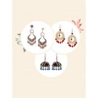 Buy Any 3 Western Earrings @349