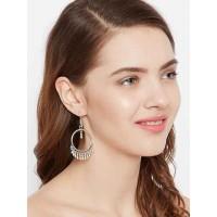 Oxidized Silver Bali Earrings For Women