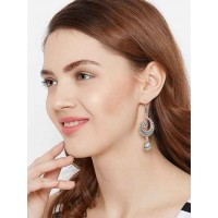 Quirky Oxidized Silver Earrings For Women