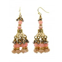 Alloy Metal Pastel Pop Dangler and Drop Western Earrings for Women and Girls