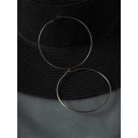 Pretty Golden Hoop Earrings For Women