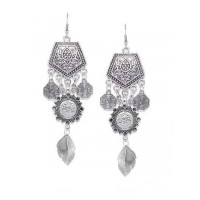 Surya Tribal Jewellery Danglers With Hanging Leaves