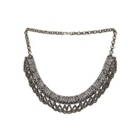 Classic Boho look Traditional Tribal Jewellery Silver Necklace