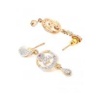 American Diamond Daily wear Dangle Earrings