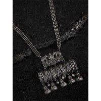 Ganesha Silver Plated Handcrafted Necklace