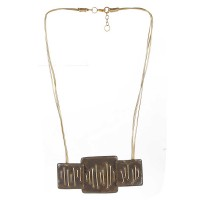 Le Chocolate Bar Statement Necklace