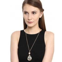 Pearl Drop Pendant Chain Fashion Necklace