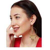 Gracias Metal Silver Handmade Western Earrings