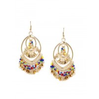 Mary Go Bananas Colorful Party Western Earrings