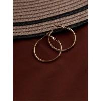 Classic Golden Small Hoop Earrings