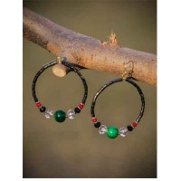 Peppy Hoops Western Earrings