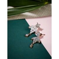 Classic American Diamond Earrings