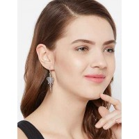 Oxidized Silver Tortoise Earrings