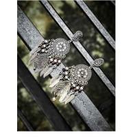 Hanging Leaves Tribal Jewellery Danglers
