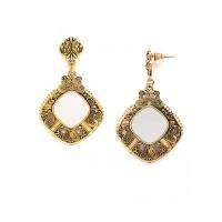 Golden Mirror Earrings