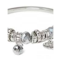 Silver Hearts Charm Bracelet