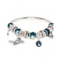Silver Butterfly Charm Bracelet