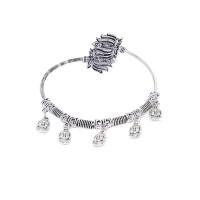 Deity Metallic Hangings Oxidized Tribal Jewellery Cuff Bracelet