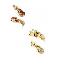 Combo of Two Classic Golden Dangler Earrings
