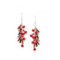 Multi-color Fancy Handmade Western Earrings