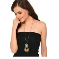 Half-Moon Long Chain Fashion Necklace