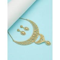 Classic Golden Necklace Set