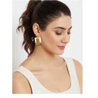 Rectangular Metal Earrings